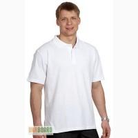 Предлагаем футболки поло, тенниски белые, под нанесение логотипа, хороший пошив.