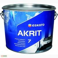 Eskaro Akrit 7 краска для потолков и стен (матовая) 9, 5 л