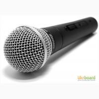 Проводной микрофон SHURE SM58
