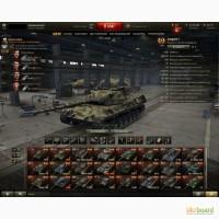 Продам личный аккаунт в игре World of Tanks
