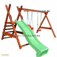 Детская горка для улицы и качели Детская игровая площадка, детский комплекс