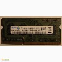 Оперативная память Samsung 1GB для ноутбука (нетбука) SoDIMM DDR3-1066
