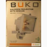 Галогенный прожектор 500Вт с датчиком движения