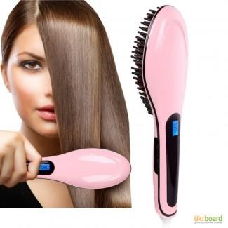 Расческа Fast Hair Straightener - выпрямитель волос
