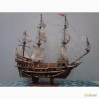 Масштабная модель парусника