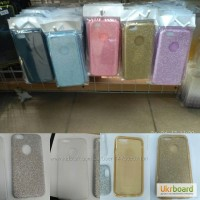 Чехол-накладка с блестками Remax Glitter на Samsung A3 A5 J120 J3 J5 J7 S7 J2Prime