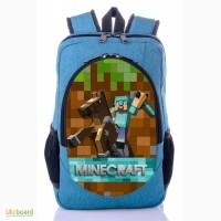 Школьный рюкзак принт Майнкрафт | MineCraft