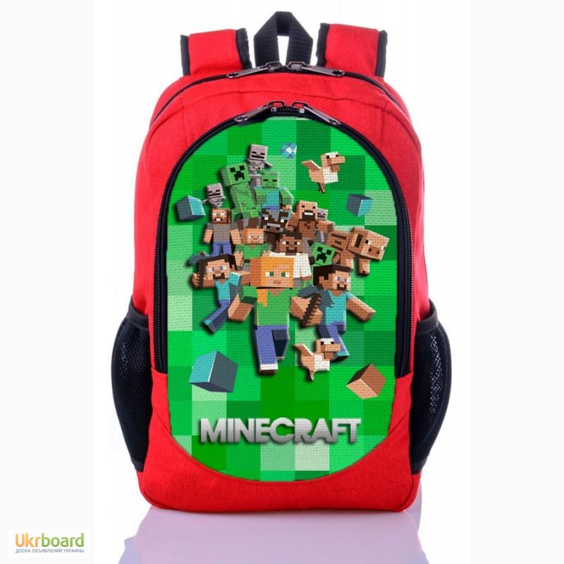 7953337a6b38 Продам/купить школьный рюкзак принт Майнкрафт | MineCraft, Харьков ...