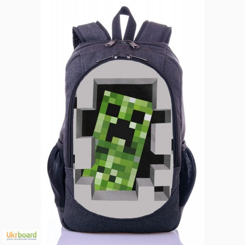 f403fe8d67ac Школьный рюкзак принт Майнкрафт | MineCraft Школьный рюкзак принт Майнкрафт  | MineCraft ...