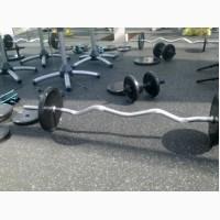 Покрытие для тренажерных залов, спортивный мат