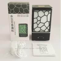 USB увлажнитель лампа Water Cube Ночной свет с семи оттенками