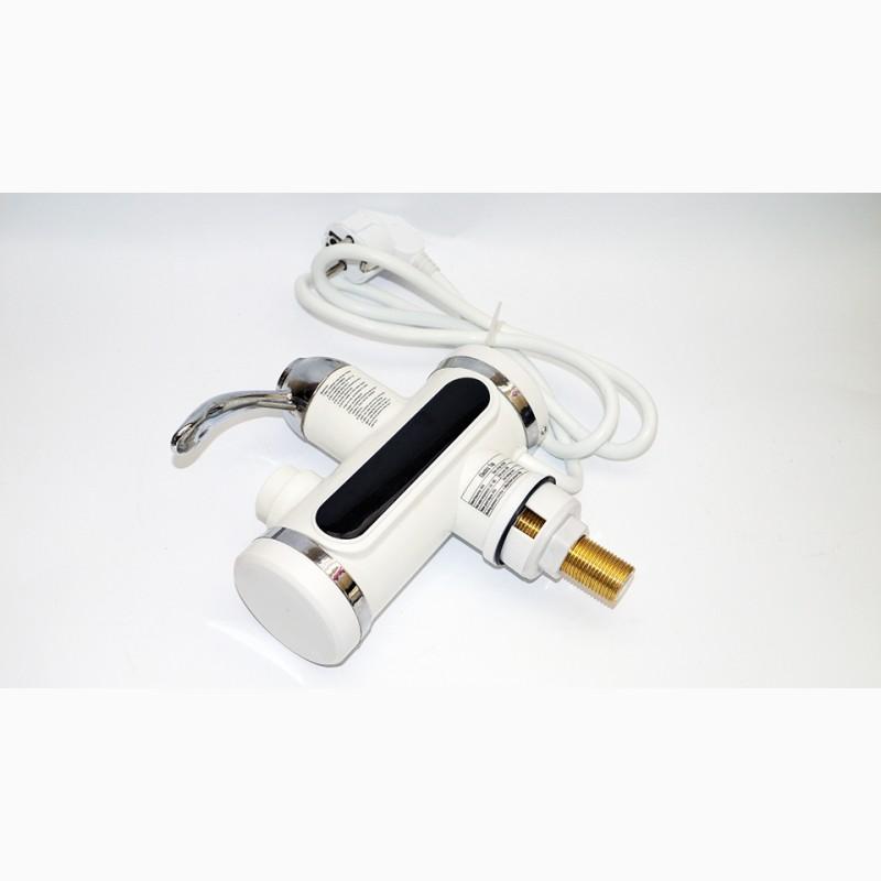 Фото 3. Проточный водонагреватель с LCD экраном Instant Electric Heating Water Faucet