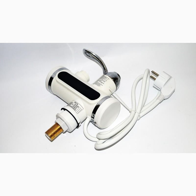 Фото 4. Проточный водонагреватель с LCD экраном Instant Electric Heating Water Faucet