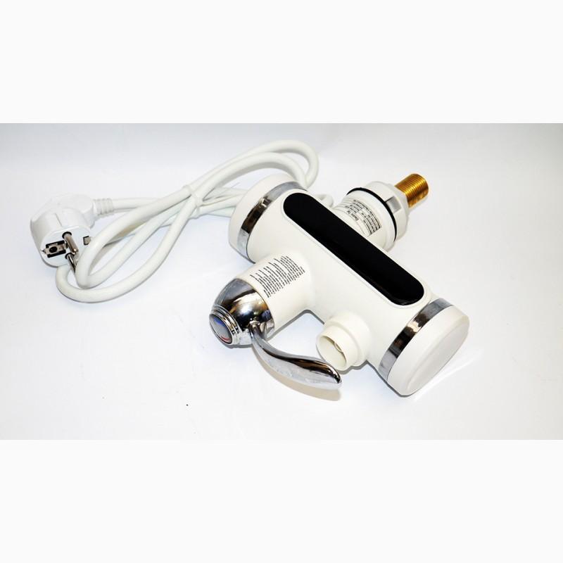 Фото 5. Проточный водонагреватель с LCD экраном Instant Electric Heating Water Faucet