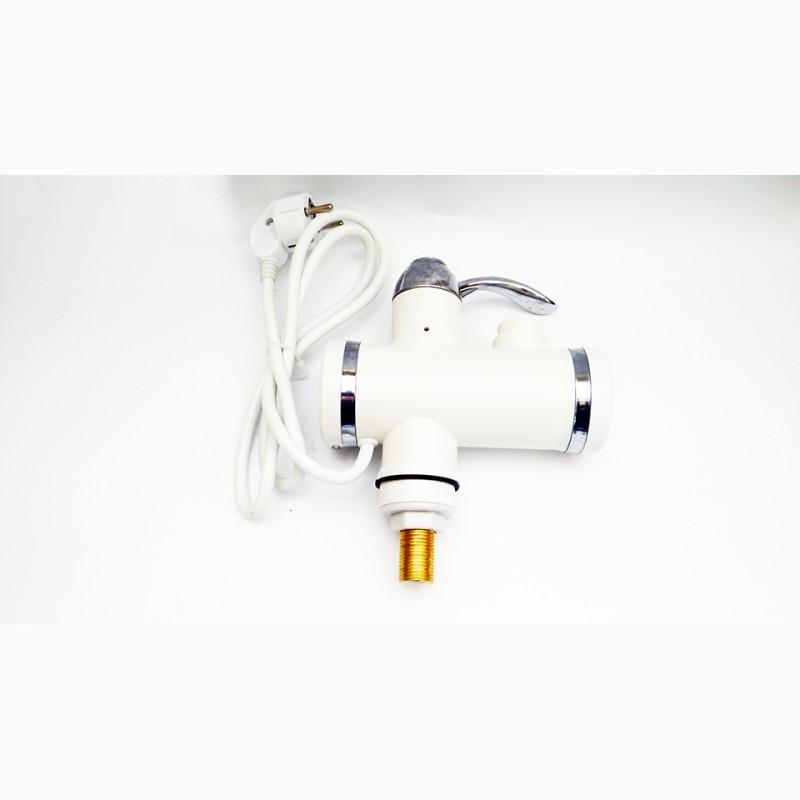 Фото 8. Проточный водонагреватель с LCD экраном Instant Electric Heating Water Faucet