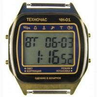 Часы ЭЛЕКТРОНИКА ЧН-01 с АЦНХ 5 мелодий арт.1168