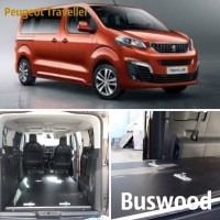 Напольное покрытие для микроавтобуса Peugeot Traveller