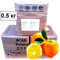 ВСАА 2:1:1 амінокислоти 0.5 кг