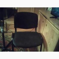 Продам стул офисный Стиль ISO С-11 на металлических ножках б/у