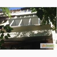 Окна металлопластиковые, остекление балкона, установка окон, комплексная или частичная отд
