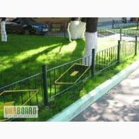 Газонные ограждения для клумб, парковых дорожек, скверов