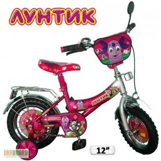 Детский велосипед 12 Лунтик