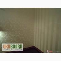 Ремонт комнаты, ремонт квартир Киев, шпаклевка стен под покраску, монтаж гипсокартона