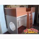 Кровать детская со шкафом и полками (д6) Merabel