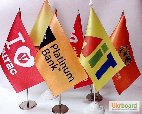 Фото 3. Изготовление флагов, флажков на палочке, автомобильных флажков