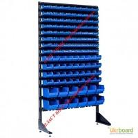 Универсальный стеллаж-витрина с лотками 1800 мм+ 120 емкости