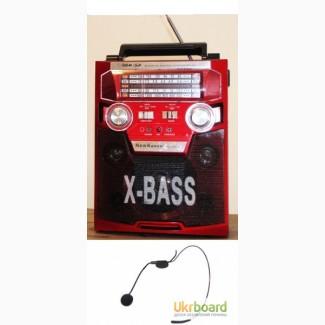 Колонка с головным микрофоном KN-62 на акумуляторе