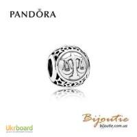 Оригинал Pandora шарм знаки зодиака весы 791942