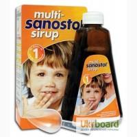 Продам Мульті Саностоль сироп вітаміни для дітей MULTI-SANOSTOL300мл та 600мл