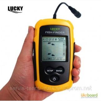 Универсальный супер-эхолот Lucky FF1108-1. Самая низкая цена