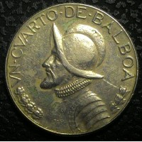 Панама 1/4 бальбао 1968 год