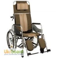 Многофункциональная инвалидная коляска с высокой спинкой