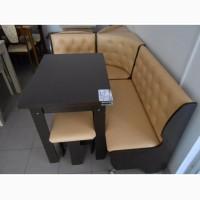 Кухонный уголок Адмирал: угловой диван, раскладной стол и 2 табурета