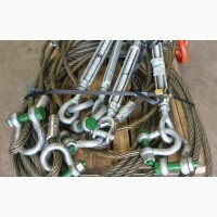 Такелажные скобы прямые и омегаобразные 1-50 тонн