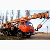 Услуги (аренда) Автокрана 20, 25, 32, 40, 50 тонн