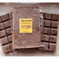 Продам замороженный корм для рыб Артемия в вакуумной упаковке шоколадка