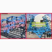 Предлагаем широкозахватный культиватор с катком и пружинами КГШ от 4 до 12м