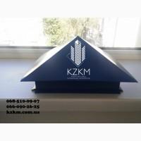 Колпаки для забора Шляпки на забор Крышки на столбики забора Крышка цена от Завода Киев