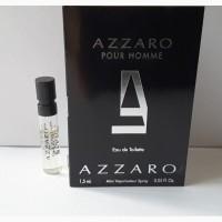 Пробник туалетной воды 1, 5 мл azzaro pour homme, франция