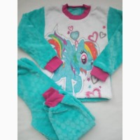Пижама для девочки, велсофт