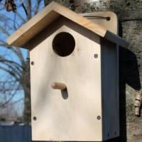Скворечник деревянный - домик для птиц 4