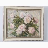 Продам картину Вербицкого Сергея Пионы 70х85см
