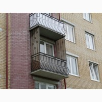 Незастекленный Балкон Ремонт/Обшить/Застеклить