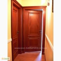 Двери и перегородки из массива дерева