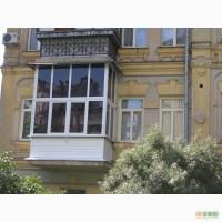 Остекление балкона. Утепление, обшивка. Раздвижные окна.