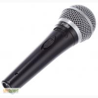 Микрофон проводной Shure PG-58 с кнопкой